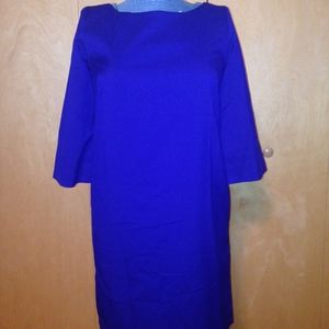 Roberta Freyman Sml Blue Dress NWT